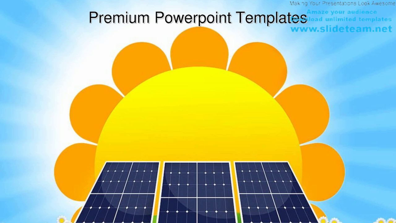 solar panel geographical powerpoint templates themes and backgrounds ppt layouts youtube. Black Bedroom Furniture Sets. Home Design Ideas