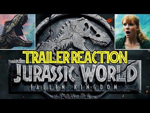 Jurassic World 2 : Fallen Kingdom - TRAILER REACTION - REVIEW - Parque Jurásico - Reino caído