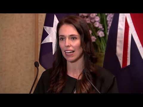 Full Video: Jacinda Ardern & Malcolm Turnbull