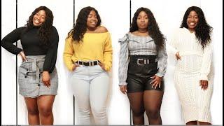 ➣  HUGE SPRING 2019 TRY ON HAUL - Fashion Nova, Boohoo, F21, Urban Planet and Zara - Plus-Size