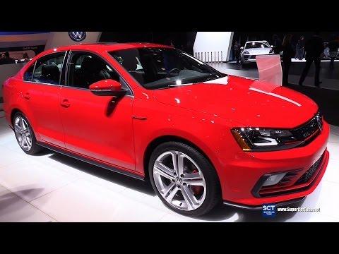 2016 Volkswagen Jetta GLI SEL - Exterior and Interior Walkaround - 2016 Detroit Auto Show