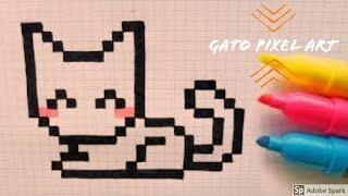 Drawing a White Cat - ROBLOX - Pixel Art creator