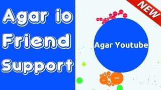 Agar.io Supporting Friend Gameplay Highest Score (10.000+)