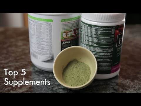 Top 5 Supplements For Health And Well Being