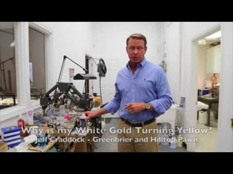 Why is my White Gold Turning Yellow?