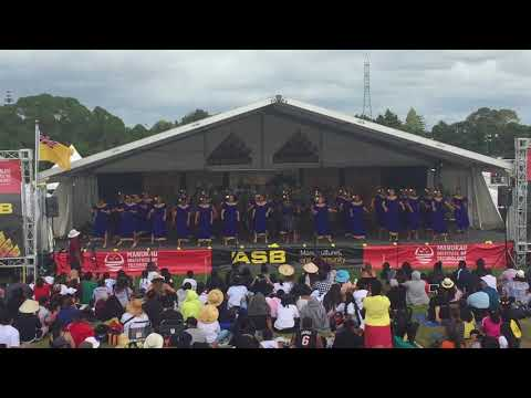 Southern Cross Campus Niuean Group: Polyfest 2018