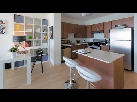 Tour a north view 1-bedroom at Coast at Lakeshore East