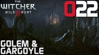 The Witcher 3 Gameplay German #022 Golem & Gargoyle | Deutsch | Let's Play