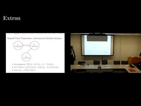 Applied Stats 4/26/17 - Marc Ratkovic & Dustin Tingley on YouTube