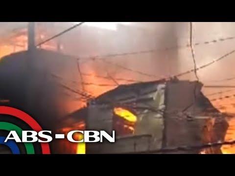 TV Patrol: Sunog, sumiklab sa residential area sa Malabon