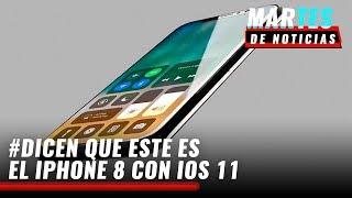 iphone 8 con ios 11 y galaxy note 8 martesdenoticias