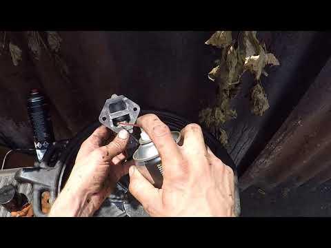 Как промыть дроссельный узел и клапан рециркуляции Мазда 3-Mazda 3.