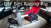 Modular Aluminium Sim Rig - Wheel, HOTAS and Center Joystick