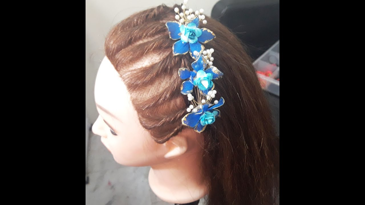 make twisted front hairstyle