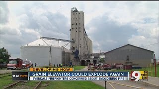 Could the grain elevator in Evendale explode again?