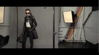 How To Wear Leather Coat