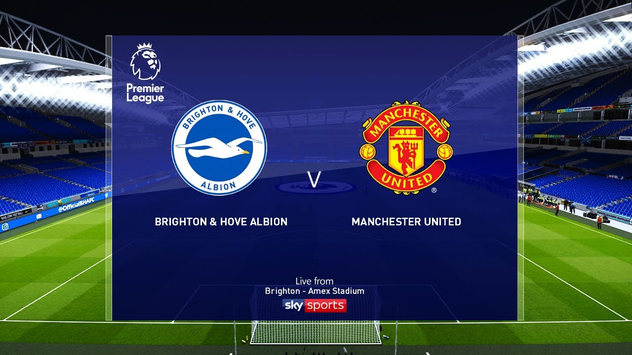 Brighton vs Manchester United - EPL 30 June 2020 Gameplay - YouTube