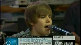 Download Justin Bieber - U Smile Live On QVC MP3 song and Music Video