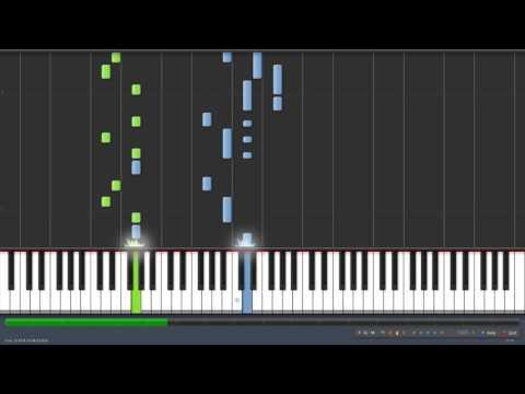 Boney M - Rivers of Babylon (Piano Tutorial Synthesia)