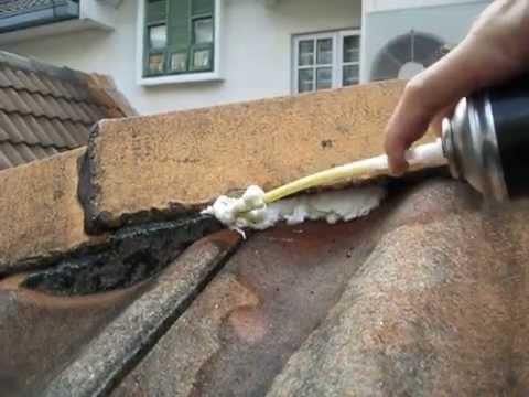 POWER FOAM* DIY SPRAY FOAM REPAIR KIT