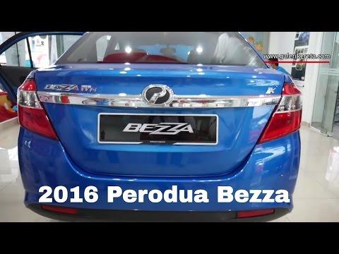 First Look Perodua Bezza Ocean Blue