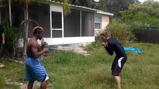 Street fighter vs pro mma fighter - greatest fight ever