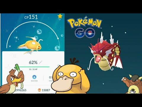 Download Youtube: MY 1ST SHINY GYARADOS!! Results So Far For The Catch Challenge - Pokemon GO