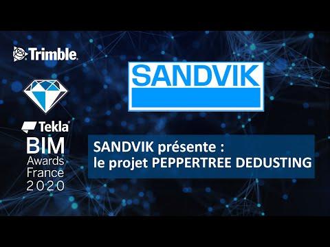 SANDVIK présente le projet PEPPERTREE DEDUSTING