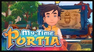 BAD PEOPLE SHOW UP AT THE FARM! | My Time At Portia | Ep 6