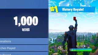 My 1000th Win + Official Fortnite Athlete Combat Record
