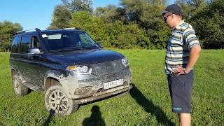 УАЗ Патриот покатушка в поисках грязи  2 09 2016