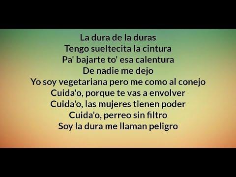 Daddy Yankee - Dura (REMIX) ft. Bad Bunny, Natti Natasha & Becky G - Letra