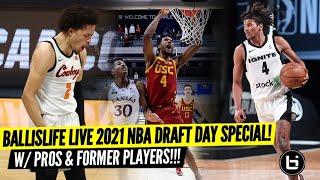 Ballislife LIVE 2021 NBA Draft Day Special!
