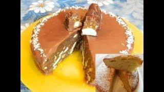 2 Самых вкусных торта БЕЗ ВЫПЕЧКИ и С ВЫПЕЧКОЙ 🎂!
