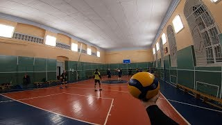 Волейбол от первого лица | VOLLEYBALL FIRST PERSON | 29 episode | part 2 | Highlights