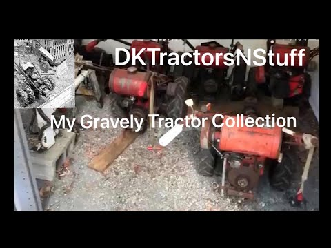 My Gravely Tractor Collection