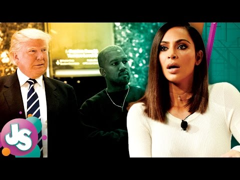 Kim Kardashian's Reaction To Kanye West Meeting Donald Trump - Just Sayin'