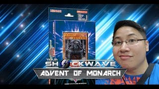 advent of the legendary monarch structure deck opening