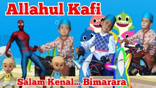 Download Allahul Kafi Robbunal Kafi UPIN dan IPIN ~ SALAM KENAL... BIMARARA ~ Upin Ipin dan Spiderman Joget