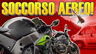 CRASH al PRIMO GIRO del TOUR con @SpampinAuto e Moto