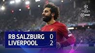 Red Bull Salzburg vs Liverpool (0-2) | UEFA Champions League Highlights
