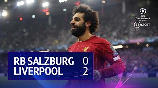Red Bull Salzburg vs Liverpool (0-2) | UEFA Champions League Highlights