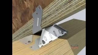 Монтаж соединителя Simpson strong tie VPA(SIMPSON STRONG-TIE - крупнейший мировой производитель соединителей для различных узлов деревянных конструкций...., 2014-09-24T14:54:18.000Z)