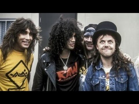Slash & Lars Ulrich talks about Pearl Jam (MTV Special 1995)