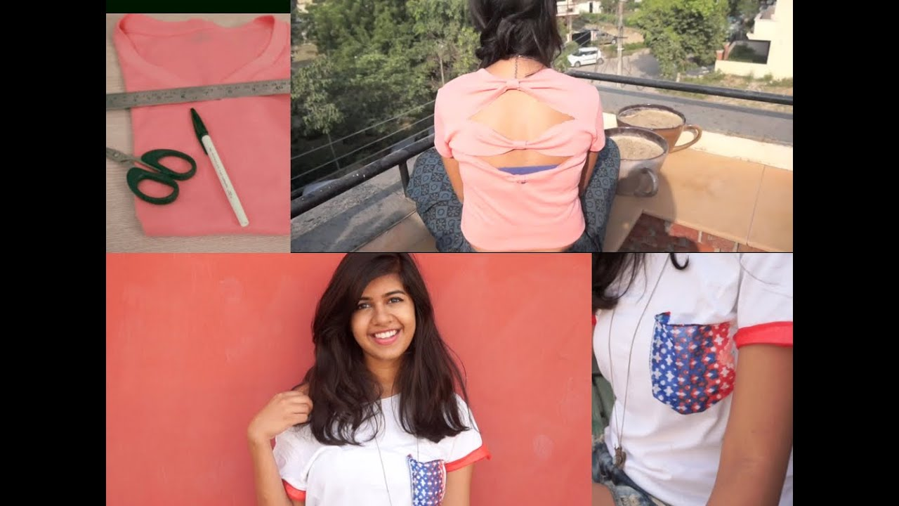 Diy Recycle Your Old T Shirts How I Style Them D