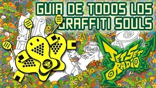 Jet Grind Radio Graffiti Soul Keychain