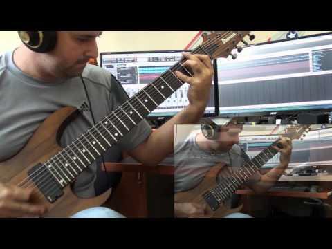 Haken - Crystallised Full guitar cover by Michael Bonet