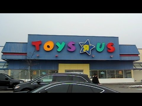 A TRIP TO TOYS 'R' US (Ontario, Canada)