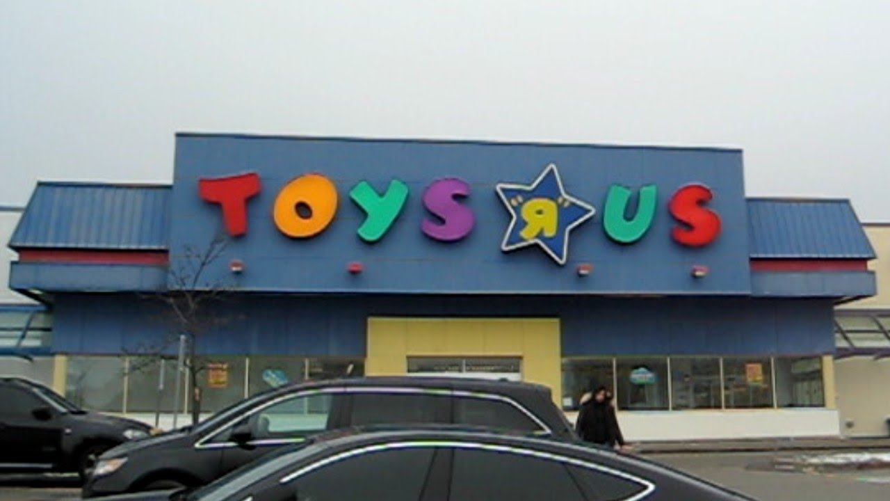 a visit to toys r us Learn colors with mcqueen race through pipes and jumping hitzh toys 1,033 watching live now baldi's basics in real life hello neighbor statues toy scavenger hunt.