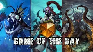 [Hearthstone] Wall of the Undead Mill Rogue - Game of the Day #14 vs Combo Priest